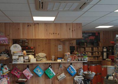 Cassette magasin de café